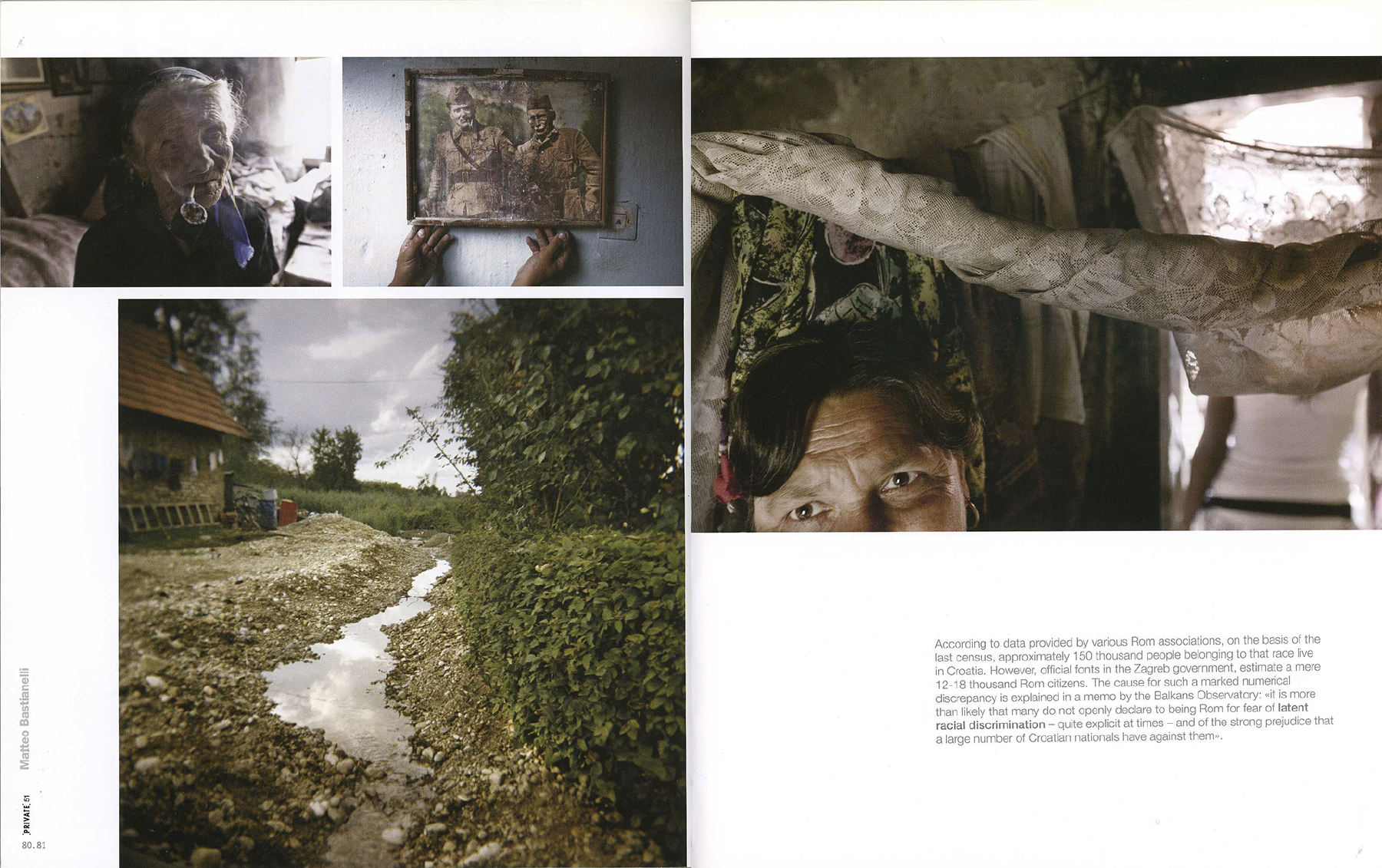"Winter 2010/2011 - ""The Rom Ghetto"" published in Private magazine"