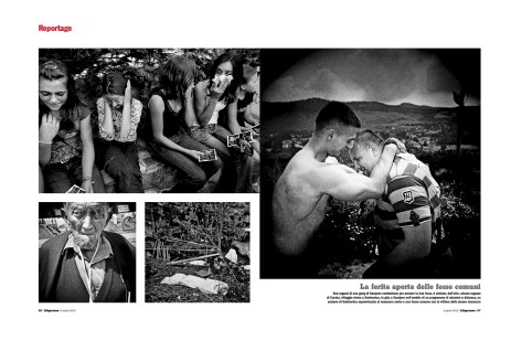 "April 2012 - ""The Bosnian Identity"" published in L'Espresso magazine"