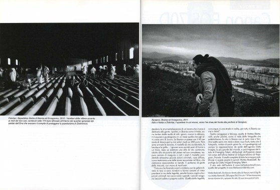 "September 2013 - ""The Bosnian Identity"" published in Fotografia Reflex."