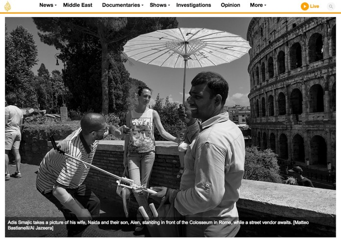 "April 2017 - My long-term project ""Bosnian diaries"" published in Al Jazeera."