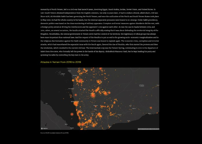 """June 2019 - """"Yemen Unveiled"""" has been published on """"Insideover"""" with a selection of my photographs, a short documentary film and a text written during my journey in Yemen."""