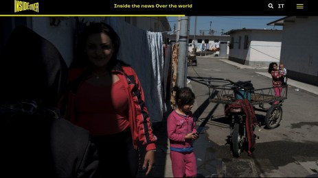 """August 2019 - My project """"From mother to daughter- Child brides"""" realized in Albania has been published with text, photo and video on Insideover."""