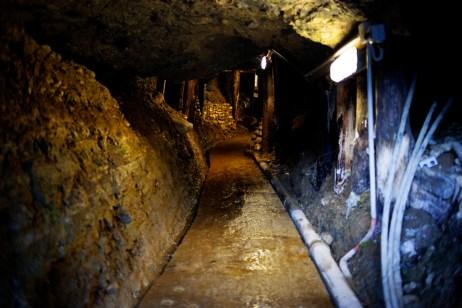 The entrance of the underground labyrinth Ravne. Visoko, Bosnia and Herzegovina, 2014. © Matteo Bastianelli for Discovery Communications