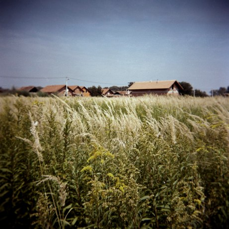 A view of a Rom camp-site in Trnovec Bartolovečki (Varazdin), Croatia 2009. © Matteo Bastianelli