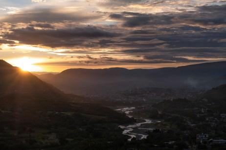 A view of the mountainous area around Tlapa de Comonfort, Mexico 2019. © Matteo Bastianelli