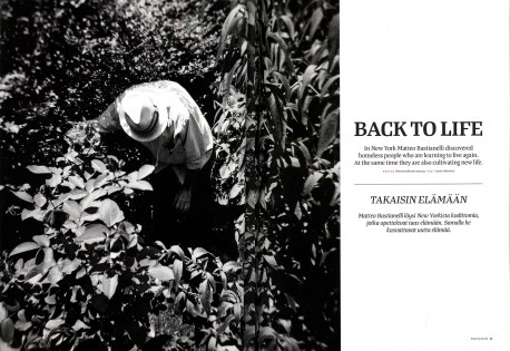 "December 2011 - ""Back and forth"" published in Photo Raw magazine"