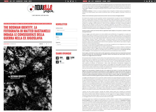 "January 2013 - The book ""The Bosnian Identity"" reviewed by La Nouvelle Vague"