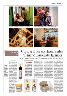 "November 2016- Assignment for ""La Stampa"", with an article written by Marilena Vinci."