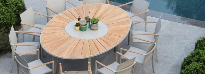 Nuovo prodotto 2015 all'interno di una collezione pre-esistente: O-ZON tavolo ovale