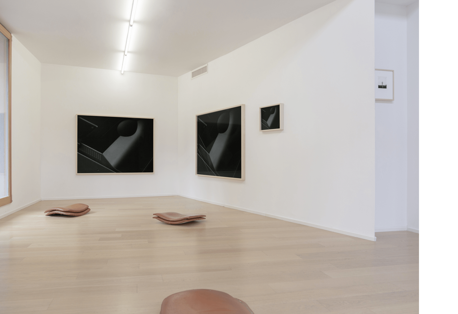 "Exhibition view,  ""DIALOGHI // Bruno Muzzolini – Matteo Cremonesi"" Office Project Room, (2019)"