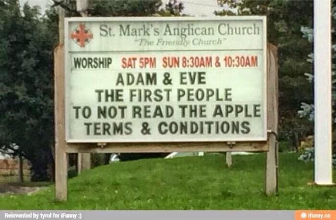 La mela o la apple per Adamo ed Eva