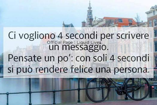 Un messaggio richiede quattro secondi