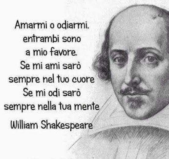 Frase di William Shakespeare