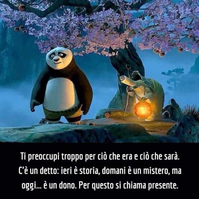 """Frase dal film """"Kung Fu Panda"""""""
