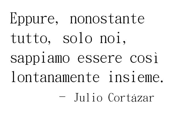 Frase di Julio Cortàzar