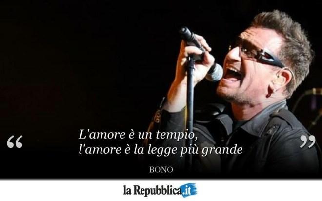 Il tempio costruito da Bono con l'amore