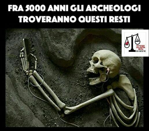 Reperto che sarà trovato fra 5000 anni