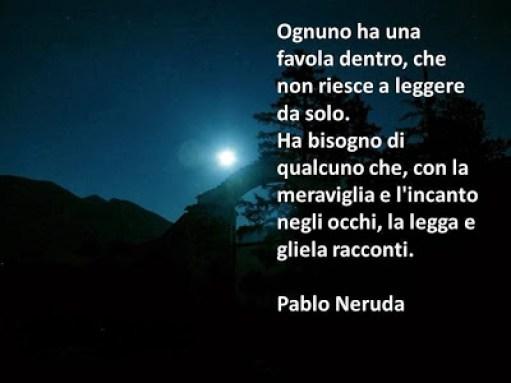 Frase di Pablo Neruda sulla favola