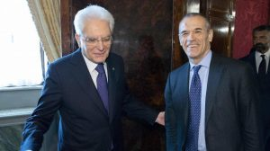 Il Presidente della Repubblica Sergio Mattarella con il Premier incaricato: è giunta l'ora?