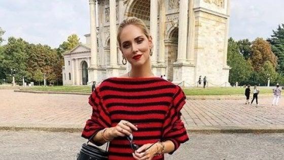 Ritratto della fashion blogger Chiara Ferragni, candidata all'Ambrogino d'Or