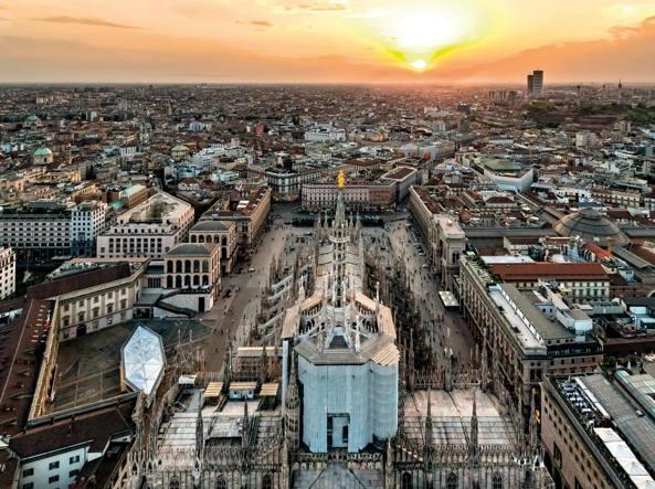 La Piazza del Duomo di Milano, città migliore per qualità della vita