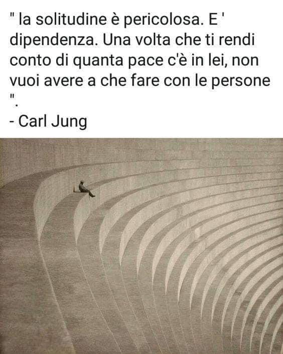Per Jung la solitudine è una pericolosa dipendenza
