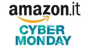Logo del Cyber Monday di Amazon