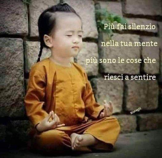 Cosa riesci a sentire quando la tua mente è in silenzio?