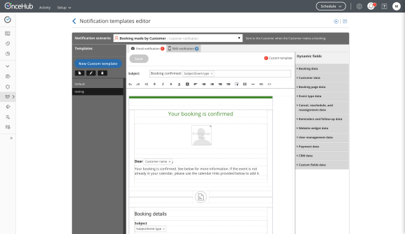 ScheduleOnce review: differentiating features
