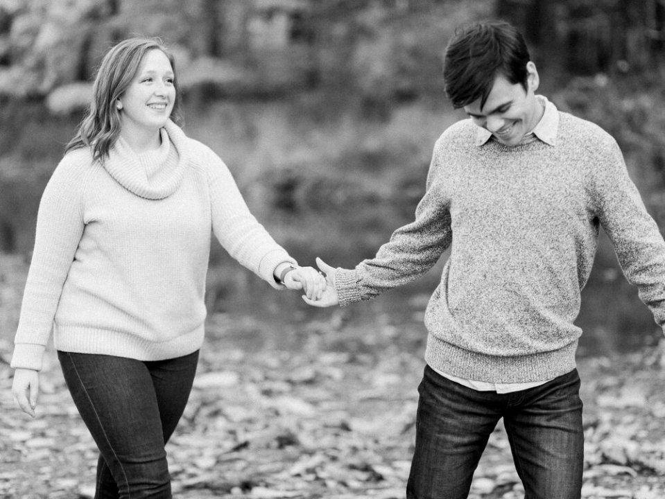 Fall Rocky River Reservation Engagement Photos-11.jpg