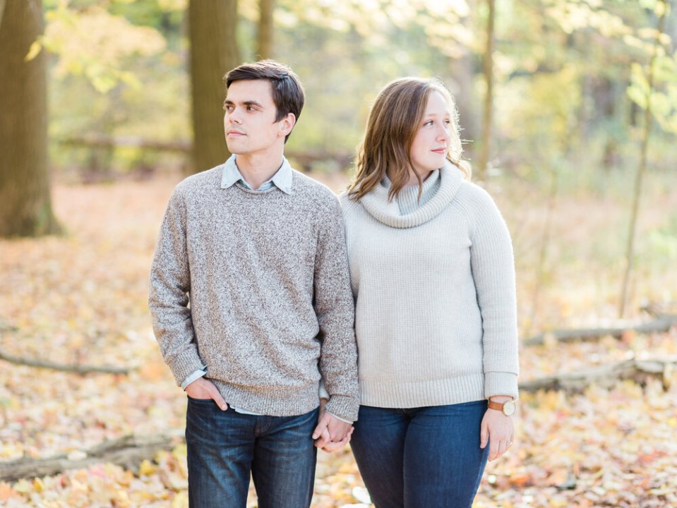 Fall Rocky River Reservation Engagement Photos-5.jpg