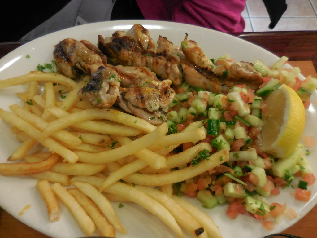 Pargiyot on plate at Jerusalem Grill