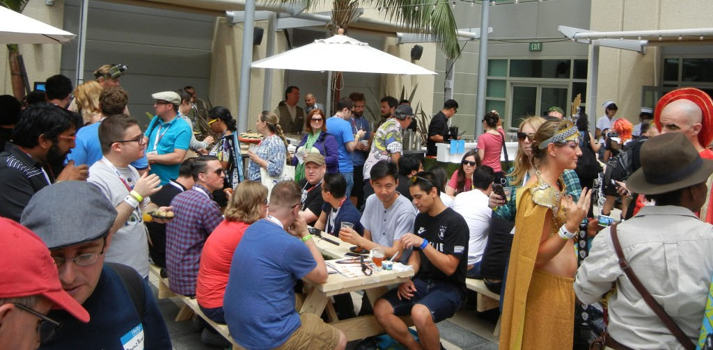 Experiencing Wired Café at San Diego Comic Con 2015