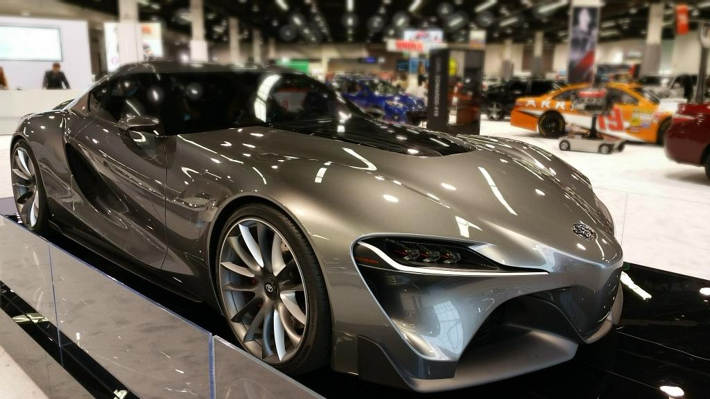 Some Cool-Looking Cars at the 2015 Orange County Auto Show: A Photo Essay