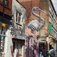 a walk on Brick Lane