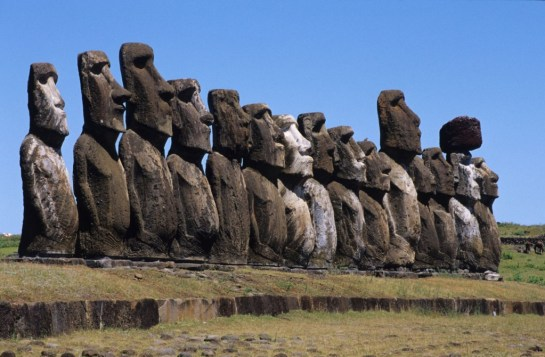 Moai easter island