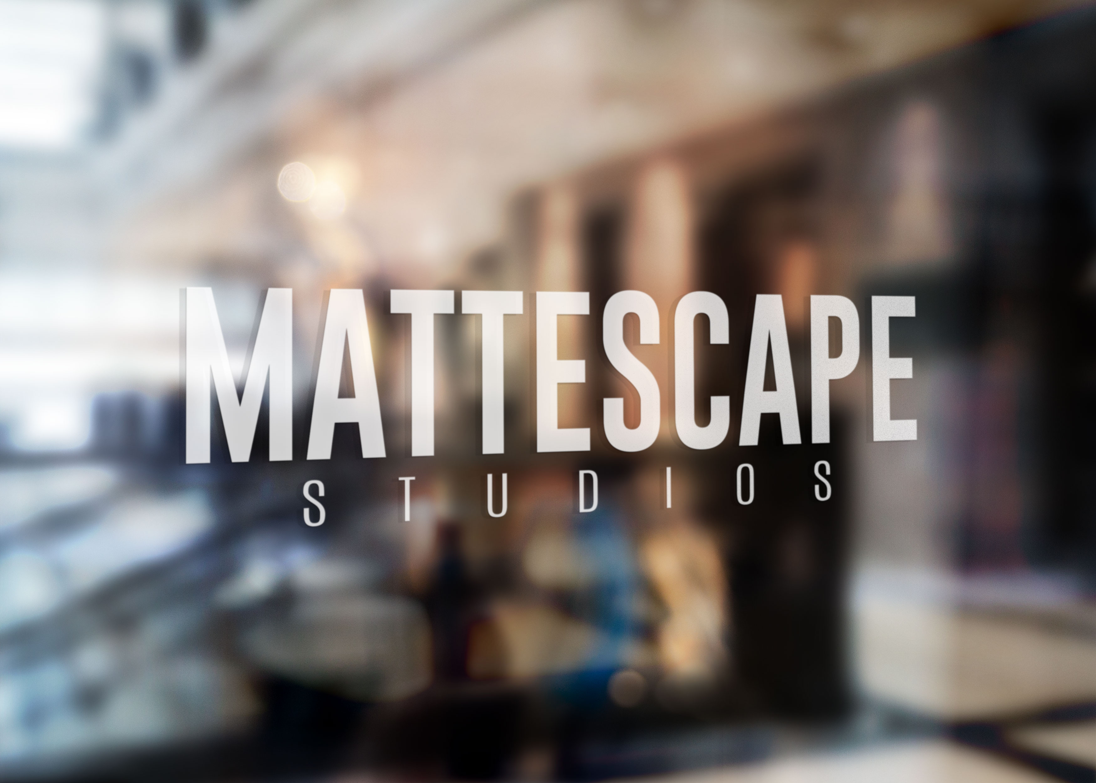 Mattescape_Window