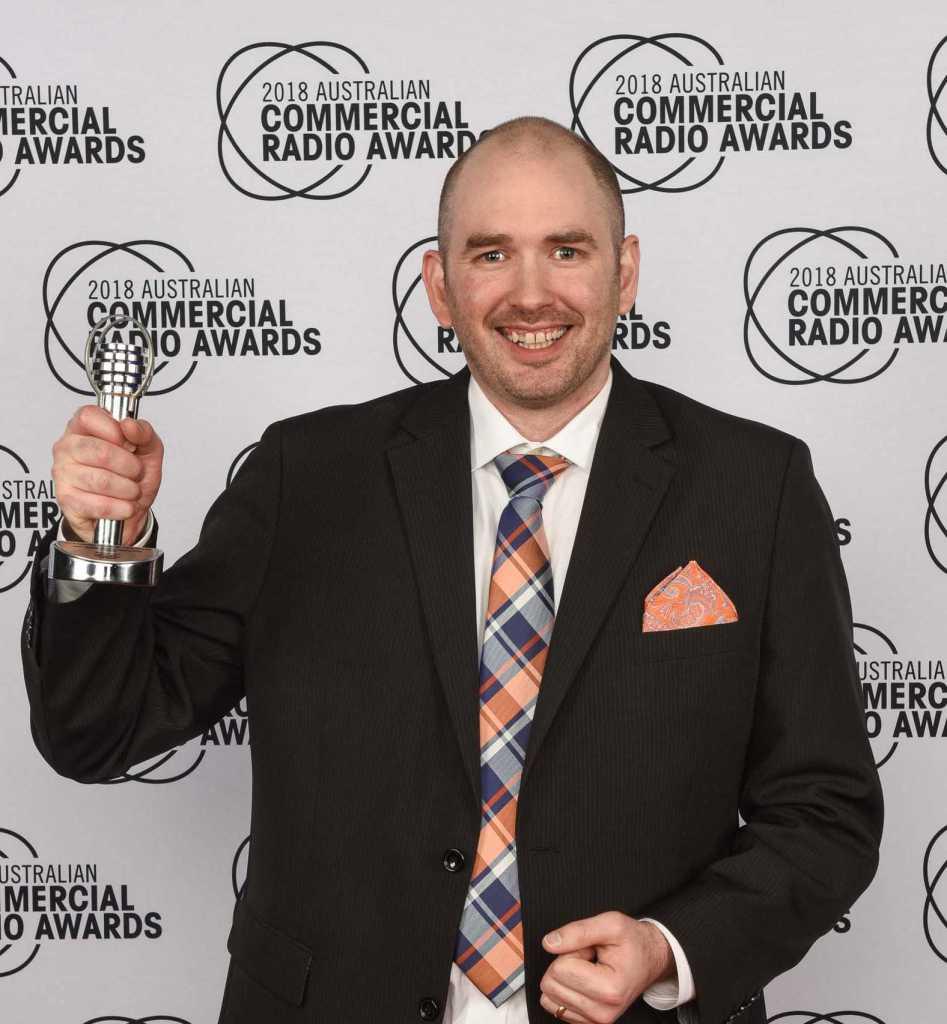 Winner - 2018 Australian Commercial Radio Awards