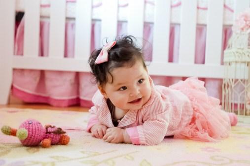 Baby on Floor Portrait