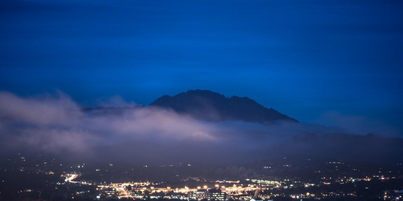 Fog over Prescott