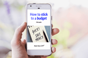 Image of the cover of the mini-guide 'How to stick to a budget'