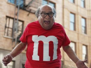M&Ms Super Bowl Advertisers