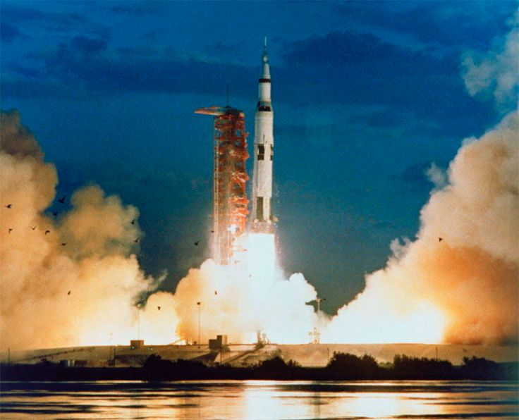 Saturn V Launch (Space.com)
