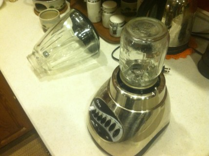 my very own mini blender