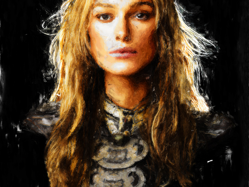 Elizabeth Swann, the pirate king