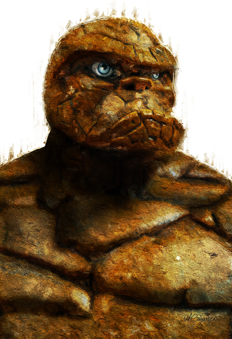 Portrait of Ben Grimm, the Thing