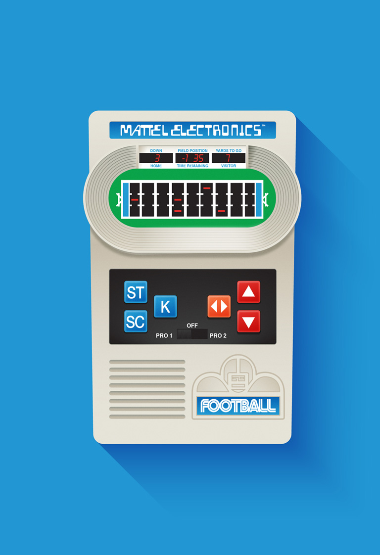 Mattel Electronics Football Game