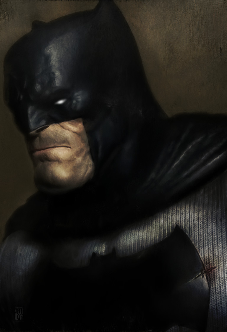 Portrait of the Batman