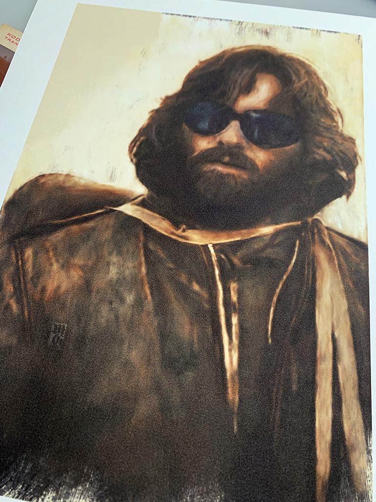 Art print of R.J. MacReady
