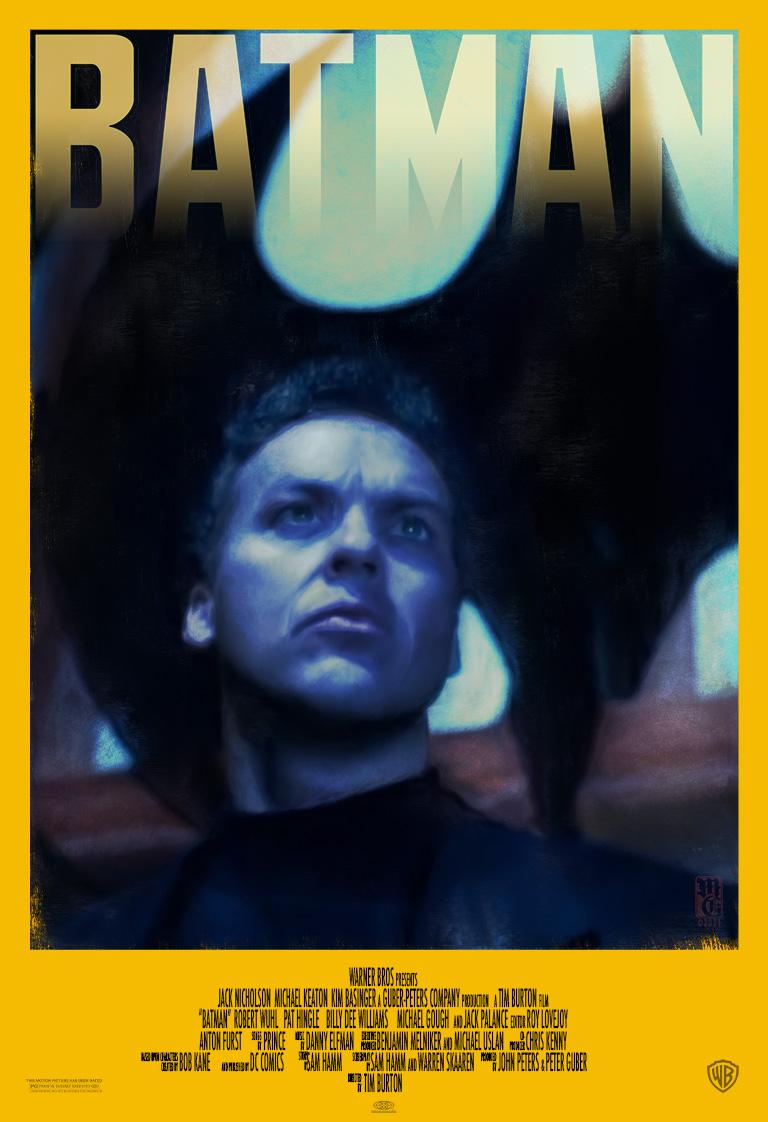 Alternative Batman movie poster